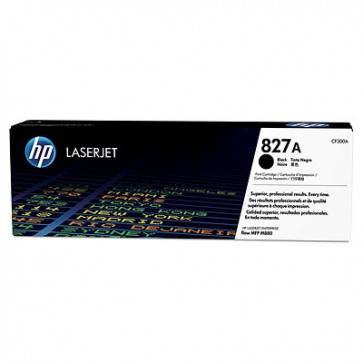 Cartucho de tóner original LaserJet HP 827A negro