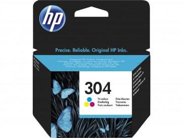 HP Cartucho de tinta Original 304 tricolor N9K05AE