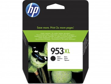 HP Cartucho de tinta Original 953XL de alto rendimiento negro L0S70AE