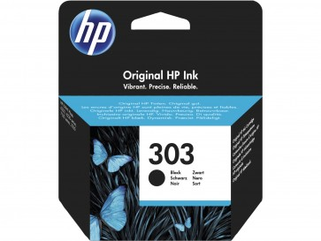 HP Cartucho de tinta Original 303 negro T6N02AE