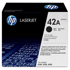 Cartucho de tóner original LaserJet HP 42A negro