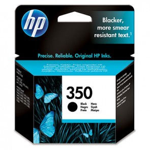 Cartucho de tinta original HP 350XL de alta capacidad negro