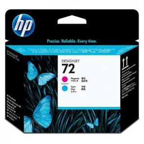 Cabezal de impresión HP 72 magenta y cian