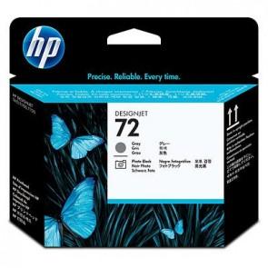 Cabezal de impresión DesignJet HP 72 negro fotográfico y gris