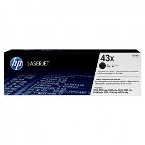 Cartucho original de tóner negro de alto rendimiento HP 43X LaserJet