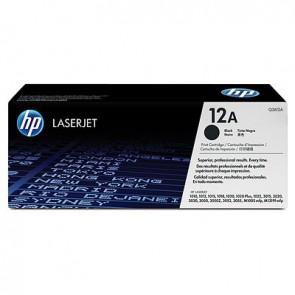Cartucho de tóner original LaserJet HP 12A negro