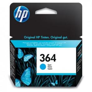 Cartucho de tinta original HP 364 cian