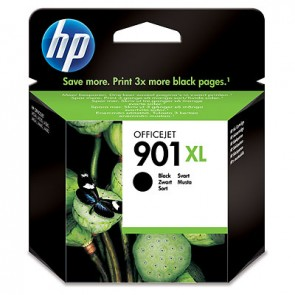Cartucho de tinta Original HP 901XL de alta capacidad negro