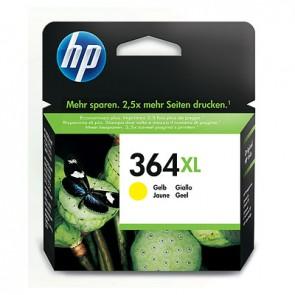 Cartucho de tinta original HP 364XL de alta capacidad amarillo