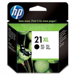 Cartucho de tinta original HP 21XL de alta capacidad negro