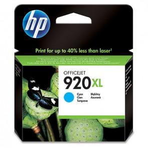 Cartucho de tinta original HP 920XL de alta capacidad cian