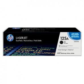 Pack de ahorro de 2 cartuchos de tóner original LaserJet HP 125A negro