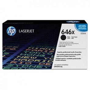 Cartucho de tóner original LaserJet HP 646X de alta capacidad negro