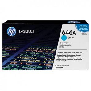 Cartucho de tóner original LaserJet HP 646A cian