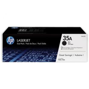 Pack de ahorro de 2 cartuchos de tóner original LaserJet HP 35A negro