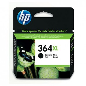 Cartucho de tinta original HP 364XL de alta capacidad negro
