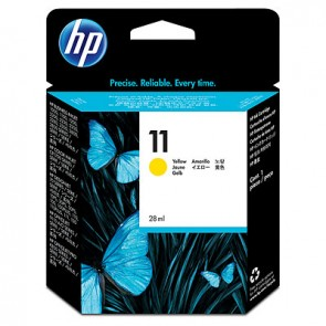Cartucho de tinta original HP 11 amarillo