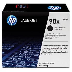 Cartucho de tóner original LaserJet HP 90X de alta capacidad negro
