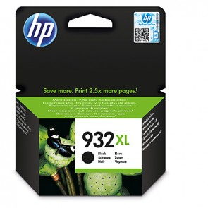 Cartucho de tinta original HP 932XL de alta capacidad negro