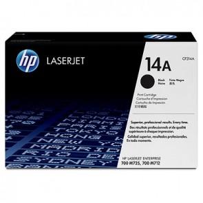 Cartucho de tóner original LaserJet HP 14A negro