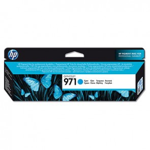 Cartucho de tinta original HP 971 cian