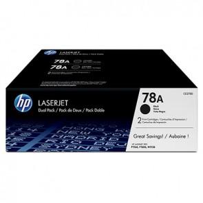 Pack de ahorro de 2 cartuchos de tóner original LaserJet HP 78A negro