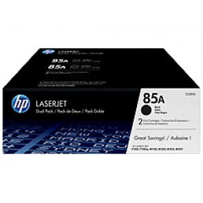 Pack de ahorro de 2 cartuchos de tóner original LaserJet HP 85A negro