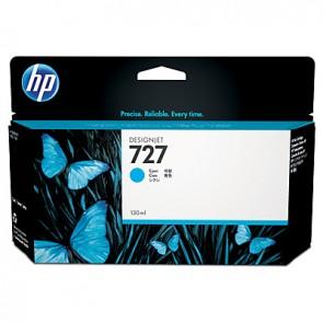 Cartucho de tinta DesignJet HP 727 cian de 130 ml