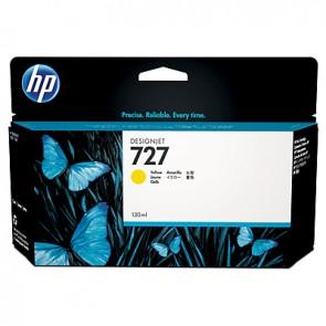 Cartucho de tinta DesignJet HP 727 amarillo de 130 ml