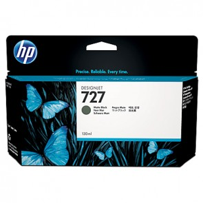 Cartucho de tinta DesignJet HP 727 negro mate de 130 ml