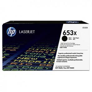 Cartucho de tóner original LaserJet HP 653X de alta capacidad negro