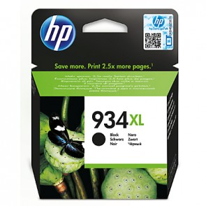 Cartucho de tinta original HP 934XL de alta capacidad negro