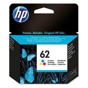 Cartucho de tinta original HP 62 tricolor