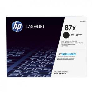 Cartucho de tóner original HP LaserJet 87X de alta capacidad negro