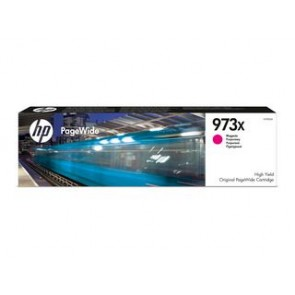 Cartucho magenta original PageWide HP 973X de alto rendimiento