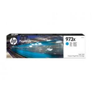 Cartucho cian original PageWide HP 973X de alto rendimiento