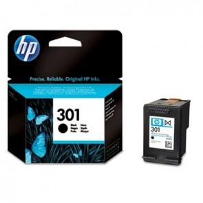 Cartucho de tinta original HP 301 negro