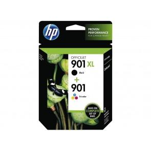 HP 901XL High Yield Black/901 Tri-color 2-pack 9ml 14ml 700páginas 360páginas Negro, Cian, Amarillo cartucho de tinta SD519AE