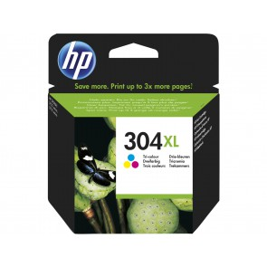 HP Cartucho de tinta Original 304XL tricolor N9K07AE