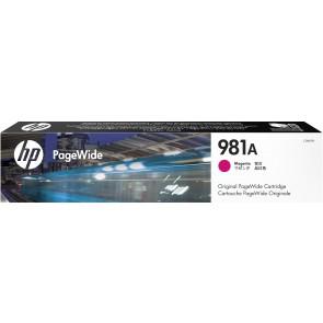 HP Cartucho original PageWide 981A cian J3M68A