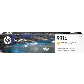 HP Cartucho original PageWide 981A amarillo J3M70A