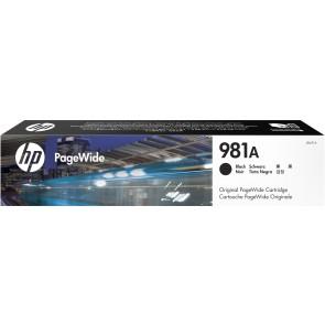 HP Cartucho original PageWide 981A negro J3M71A