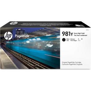 HP Cartucho original PageWide 981Y negro de alto rendimiento L0R16A