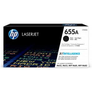 HP Cartucho de tóner Original LaserJet 655A negro CF450A