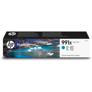 HP Cartucho Original PageWide 991X de alta capacidad cian M0J90AE