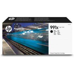 HP Cartucho Original PageWide 991X de alta capacidad negro M0K02AE