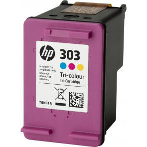 HP Cartucho de tinta Original 303 tricolor T6N01AE