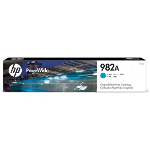 HP Cartucho PageWide 982A Original cian T0B23A