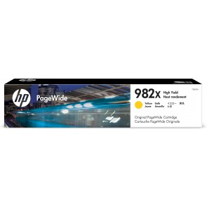 HP Cartucho PageWide 982X Original de alta capacidad amarillo T0B29A