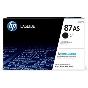 HP Cartucho de tóner Original LaserJet 87AS negro CF287AS